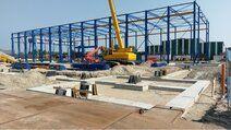 Gerealiseerde utiliteitsbouw - Bouw bedrijfshallen voor Ponton Made