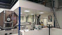 Gerealiseerde utiliteitsbouw - Renoveren technisch laboratorium Breda