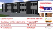 Gerealiseerde utiliteitsbouw - Nieuwbouw kantoor Smolders SSO Made