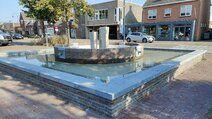 Gerealiseerde renovatie projecten - Renoveren fontein gemeente Drimmelen