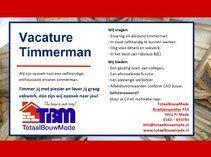 TotaalBouwMade - Vacature Timmerman