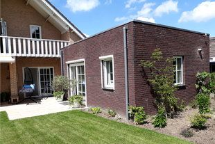 Aanbouw aan woning Oosterhout - Aanbouw aan woning Oosterhout