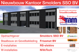 Nieuwbouw kantoor Smolders SSO Made - Nieuwbouw kantoor Smolders SSO Made
