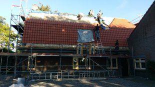 Kaprenovatie woonboerderij Wagenberg - Kaprenovatie woonboerderij Wagenberg