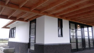Nieuwbouw woning met garage Den Hout - Nieuwbouwwoning met garage Den Hout FOTO