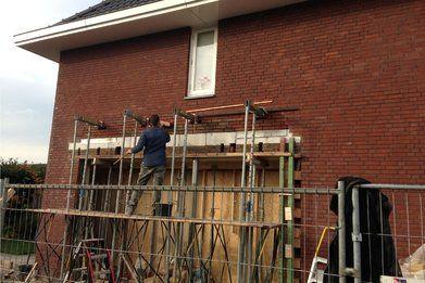 Uitbouw gezinswoning Made - Aanbouw Boveneindje FOTO