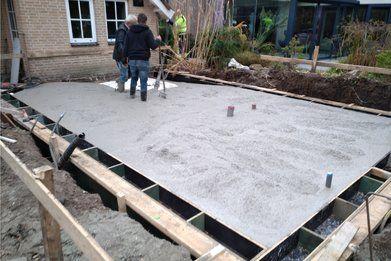 Aanbouw aan woning Oosterhout - Aanbouw Oosterhout FOTO