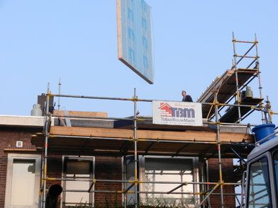 Dakopbouw woning Breda - Kanariestraat Breda