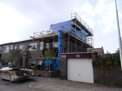 Dakopbouw woning Breda - Dakopbouw woning Breda FOTO