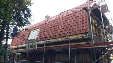 Kaprenovatie woonboerderij Wagenberg - Kaprenovatie