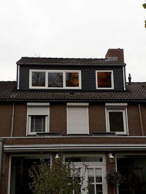 Nokverhoging woning Oosterhout - Nokverhoging woning Oosterhout FOTO