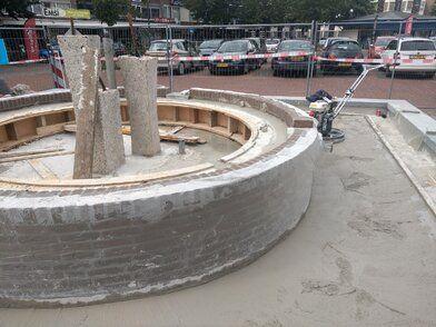 Renoveren fontein gemeente Drimmelen - Renoveren fontein gemeente Drimmelen FOTO