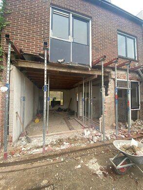 Uitbreiden woning en renoveren Breda - Uitbreiden woning en renoveren FOTO